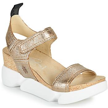 鞋子 女士 凉鞋 Fly London SENA 金色