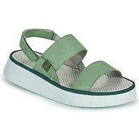 鞋子 女士 凉鞋 Fly London CURA 绿色