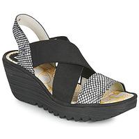 鞋子 女士 凉鞋 Fly London YAJI 黑色 / 白色