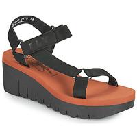 鞋子 女士 凉鞋 Fly London YEFA 黑色