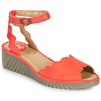 鞋子 女士 凉鞋 Fly London LUME 红色