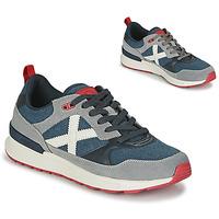 鞋子 男士 球鞋基本款 Munich Fashion ALPHA 51 灰色 / 蓝色