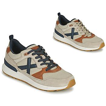 鞋子 男士 球鞋基本款 Munich Fashion ALPHA 49 米色 / 蓝色