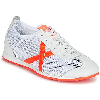 鞋子 女士 球鞋基本款 Munich Fashion OSAKA 456 白色 / 橙色