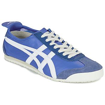 鞋子 球鞋基本款 Onitsuka Tiger 鬼冢虎 MEXICO 66 蓝色