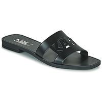 鞋子 女士 休闲凉拖/沙滩鞋 KARL LAGERFELD SKOOT II KARL KUT-OUT 黑色