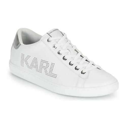 鞋子 女士 球鞋基本款 KARL LAGERFELD KUPSOLE II KARL PUNKT LOGO LO 白色