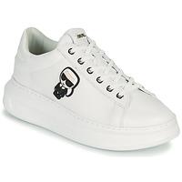 鞋子 女士 球鞋基本款 KARL LAGERFELD KAPRI KARL IKONIC LO LACE 白色