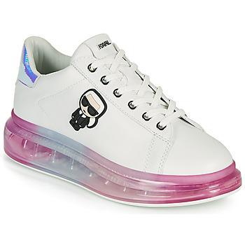 鞋子 女士 球鞋基本款 KARL LAGERFELD KAPRI KUSHION KARL IKONIC LO LACE 白色 / 多彩