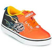 鞋子 男孩 轮滑鞋 Heelys PRO 20 X2 黑色 / 橙色