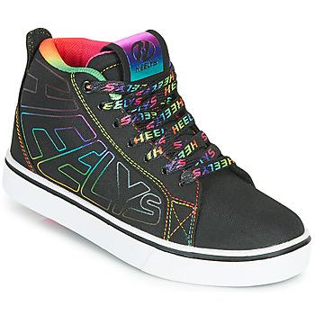 鞋子 女孩 轮滑鞋 Heelys RACER 20 MID 黑色 / 多彩
