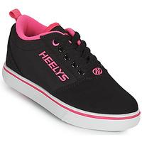 鞋子 女孩 轮滑鞋 Heelys PRO 20'S 黑色 / 玫瑰色