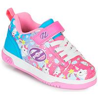 鞋子 女孩 轮滑鞋 Heelys DUAL UP X2 玫瑰色 / 蓝色