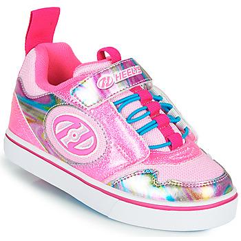 鞋子 女孩 轮滑鞋 Heelys ROCKET X2 玫瑰色