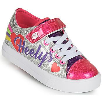 鞋子 女孩 轮滑鞋 Heelys SNAZZY X2 银灰色 / 多彩