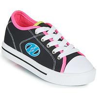 鞋子 女孩 轮滑鞋 Heelys CLASSIC X2 黑色 / 玫瑰色 / 蓝色