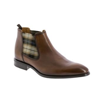 鞋子 男士 短筒靴 André CABALLO 棕色