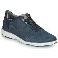 鞋子 男士 球鞋基本款 Geox 健乐士  蓝色