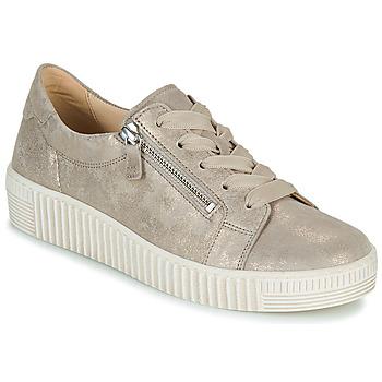 鞋子 女士 球鞋基本款 Gabor 嘉宝 6333462 米色 / 金色