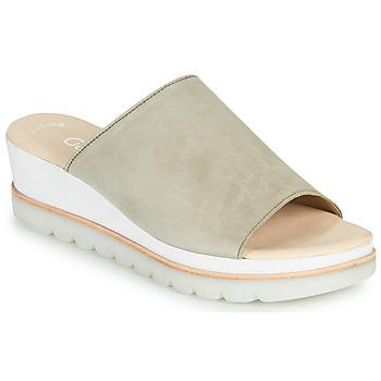 鞋子 女士 休闲凉拖/沙滩鞋 Gabor 嘉宝 6464319 灰褐色