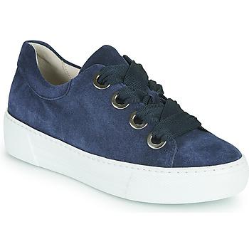 鞋子 女士 球鞋基本款 Gabor 嘉宝 6646446 海蓝色