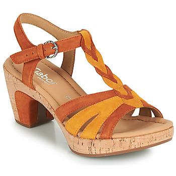 鞋子 女士 凉鞋 Gabor 嘉宝 6273442 棕色