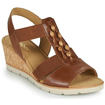 鞋子 女士 凉鞋 Gabor 嘉宝 6575024 棕色