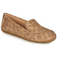 鞋子 女士 皮便鞋 Coach MARLEY DRIVER 棕色