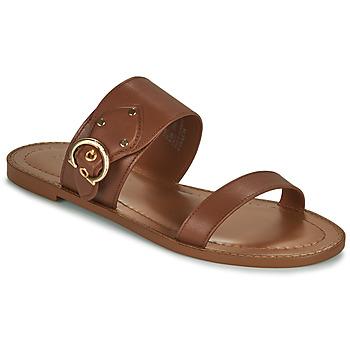 鞋子 女士 凉鞋 Coach HARLOW 棕色
