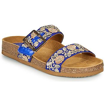 鞋子 女士 休闲凉拖/沙滩鞋 Desigual ARIES EXOTIC 蓝色