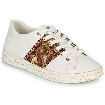 鞋子 女士 球鞋基本款 Desigual COSMIC EXOTIC LETTERING 白色