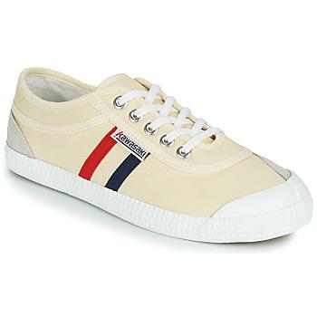 鞋子 女士 球鞋基本款 Kawasaki 川崎凌风 Retro 米色