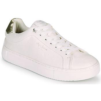 鞋子 女士 球鞋基本款 Pepe jeans ADAMS MOLLY 白色 / 金色