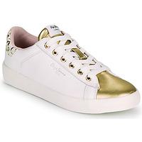鞋子 女士 球鞋基本款 Pepe jeans KIOTO FIRE 白色 / 金色