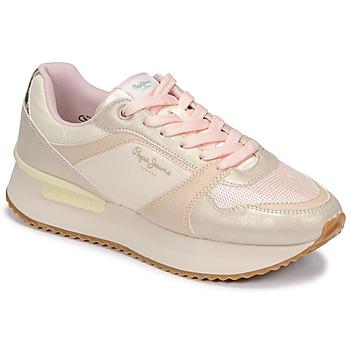 鞋子 女士 球鞋基本款 Pepe jeans RUSPER EVE 白色 / Leopard