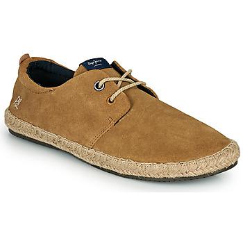 鞋子 男士 帆布便鞋 Pepe jeans TOURIST C-SMART 米色