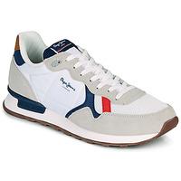 鞋子 男士 球鞋基本款 Pepe jeans BRITT MAN BASIC 白色 / 米色