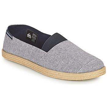 鞋子 男士 帆布便鞋 Quiksilver 极速骑板 ESPADRILLED 蓝色