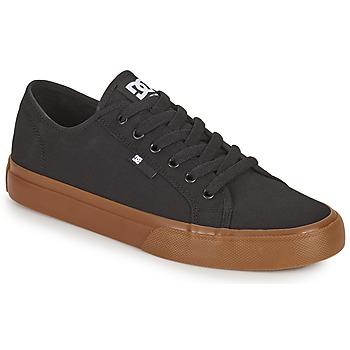 鞋子 男士 板鞋 DC Shoes MANUAL 黑色 / Gum