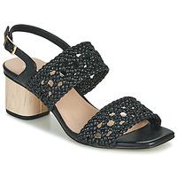 鞋子 女士 凉鞋 Ravel KIMIA 黑色