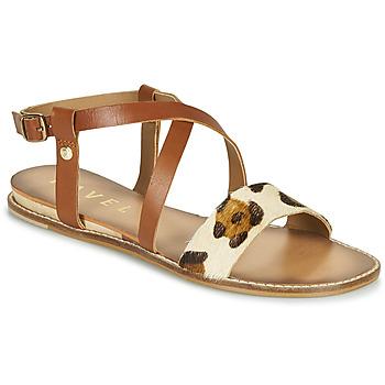 鞋子 女士 凉鞋 Ravel ASPEN 棕色 / Leopard
