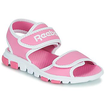 鞋子 儿童 运动凉鞋 Reebok 锐步 WAVE GLIDER III 玫瑰色