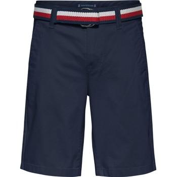 衣服 男孩 短裤&百慕大短裤 Tommy Hilfiger SORTA 海蓝色