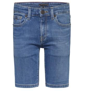 衣服 男孩 短裤&百慕大短裤 Tommy Hilfiger KAHUI 蓝色