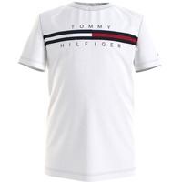 衣服 男孩 短袖体恤 Tommy Hilfiger KB0KB06532-YBR 白色