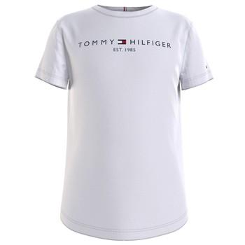 衣服 女孩 短袖体恤 Tommy Hilfiger KG0KG05242-YBR 白色