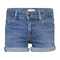 衣服 女孩 短裤&百慕大短裤 Tommy Hilfiger KG0KG05773-1A4 蓝色