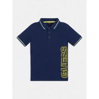 衣服 男孩 短袖保罗衫 Guess L1GP00-KADZ0-DEKB 海蓝色