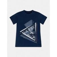 衣服 男孩 短袖体恤 Guess L1RI15-K8GA0-F233 蓝色