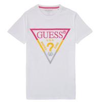 衣服 男孩 短袖体恤 Guess H1RJ05-K8HM0-P66P 白色